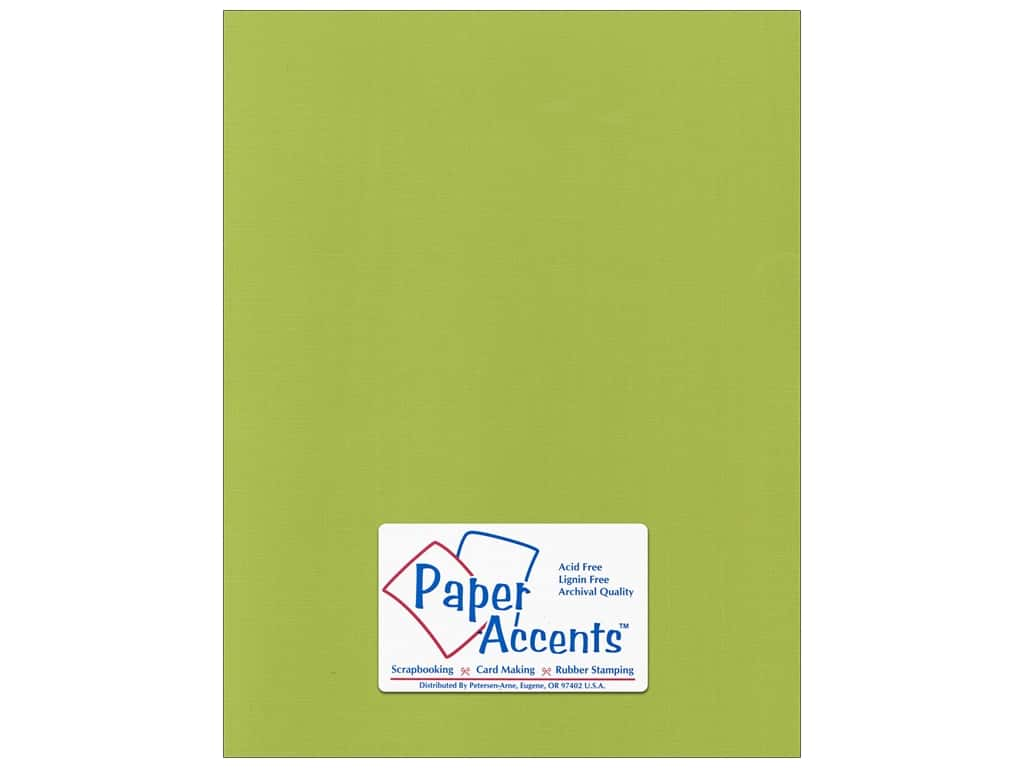 Paper Accents Cardstock 8 1/2 x 11 in. #555160 Canvas Mint Julep 25 pc.