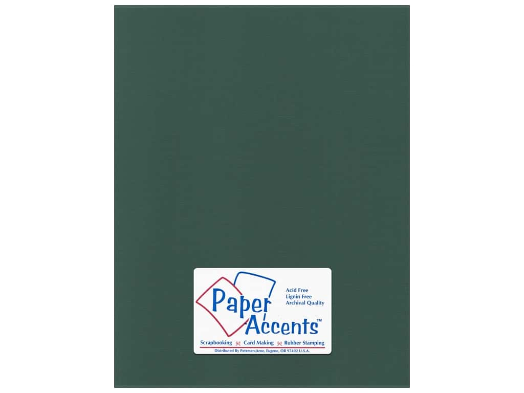 Paper Accents Cardstock 8 1/2 x 11 in. #55523 Canvas Pine Forest 25 pc.