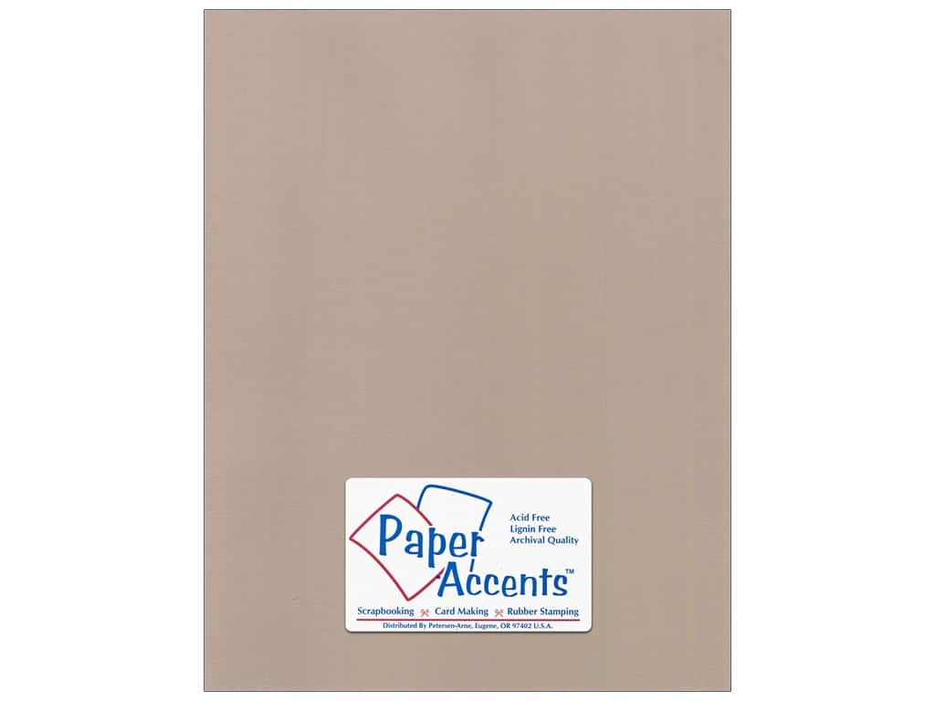 Paper Accents Cardstock 8 1/2 x 11 in. #58810 Canvas Chamois 25 pc.