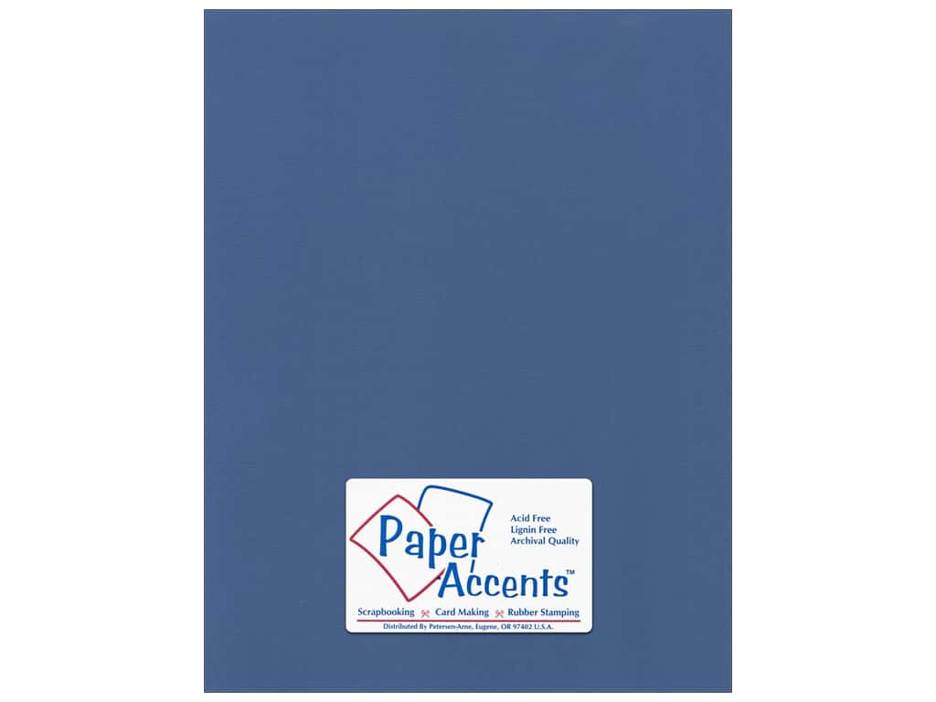 Paper Accents Cardstock 8 1/2 x 11 in. #57732 Canvas Ocean Side 25 pc.