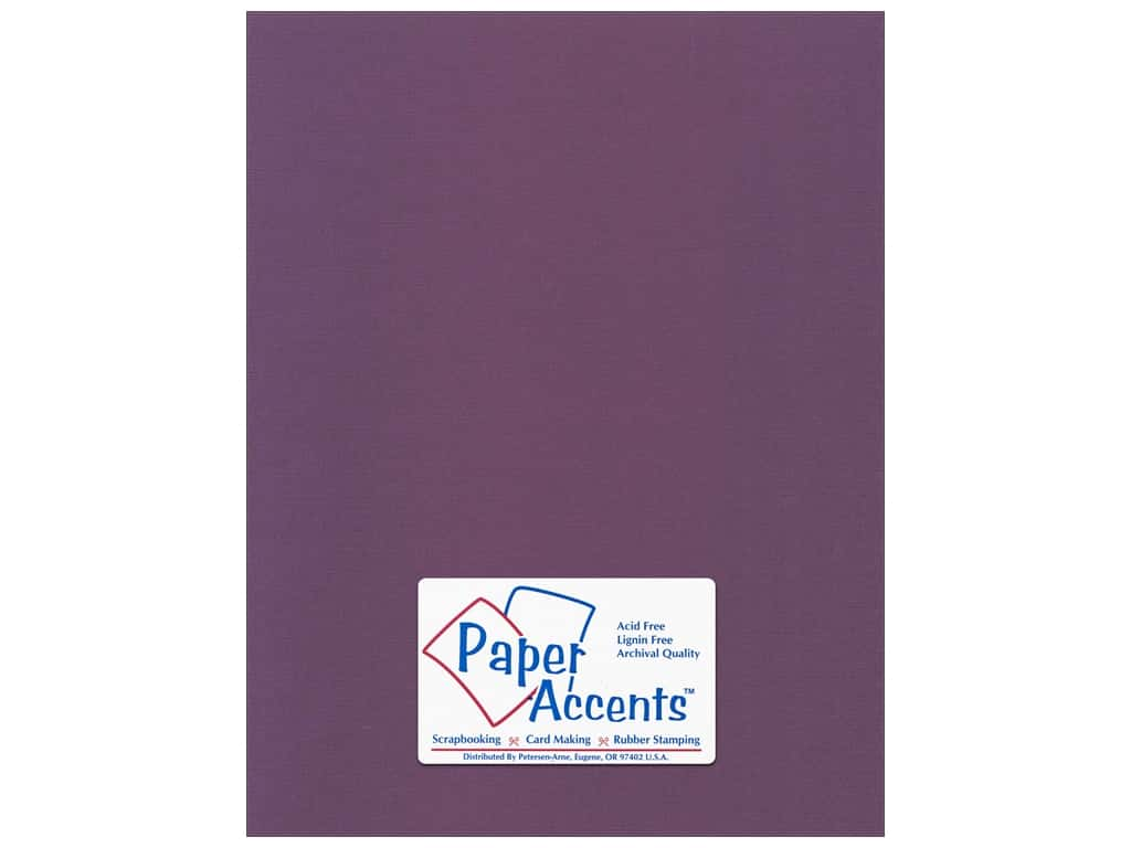 Paper Accents Cardstock 8 1/2 x 11 in. #56612 Canvas Concord Jam (25 sheets)