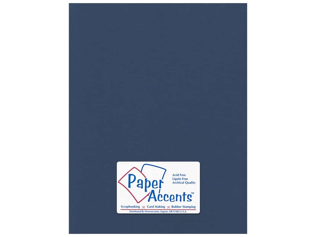 Paper Accents Cardstock 8 1/2 x 11 in. #57734 Canvas Velvet Night (25 sheets)