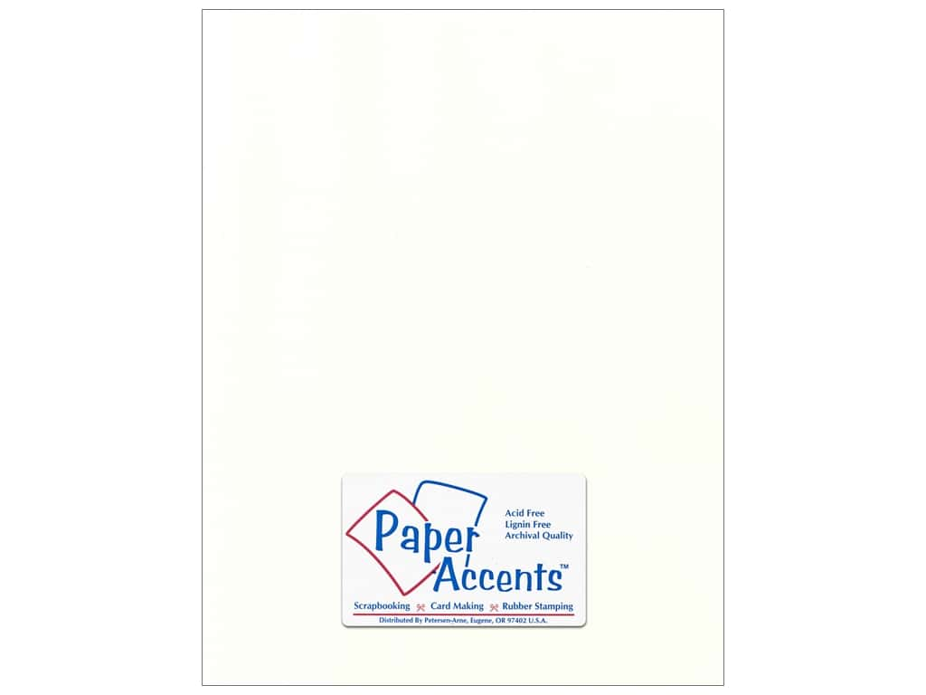 Paper Accents Cardstock 8 1/2 x 11 in. #58808 Canvas Muslin 25 pc.