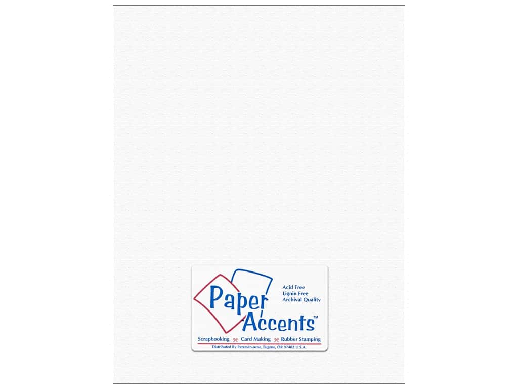 Paper Accents Cardstock 8 1/2 x 11 in. #5101018 Canvas Snowbound (25 sheets)