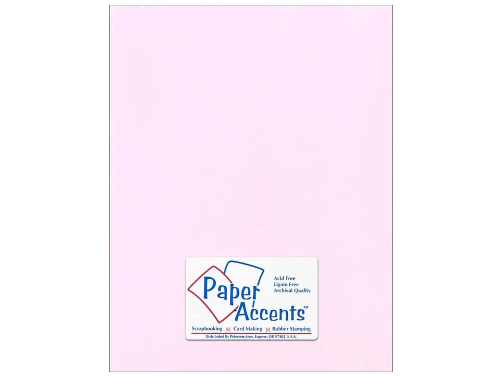 Paper Accents Cardstock 8 1/2 x 11 in. #51109 Canvas Pale Blossom 25 pc.