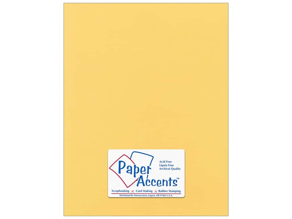 Paper Accents Cardstock 8 1/2 x 11 in. #54410 Canvas Tuscan Sun 25 pc.