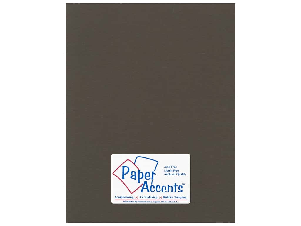 Paper Accents Cardstock 8 1/2 x 11 in. #59908 Canvas Brown Eyes 25 pc.