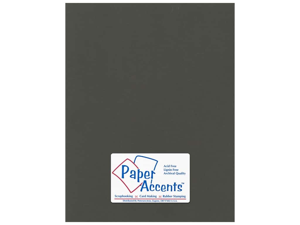 Paper Accents Cardstock 8 1/2 x 11 in. #59909 Canvas Espresso Bean 25 pc.