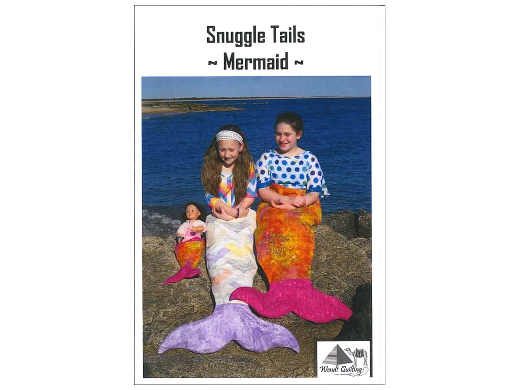 Wendt Quilting Snuggle Tails Mermaid Pattern