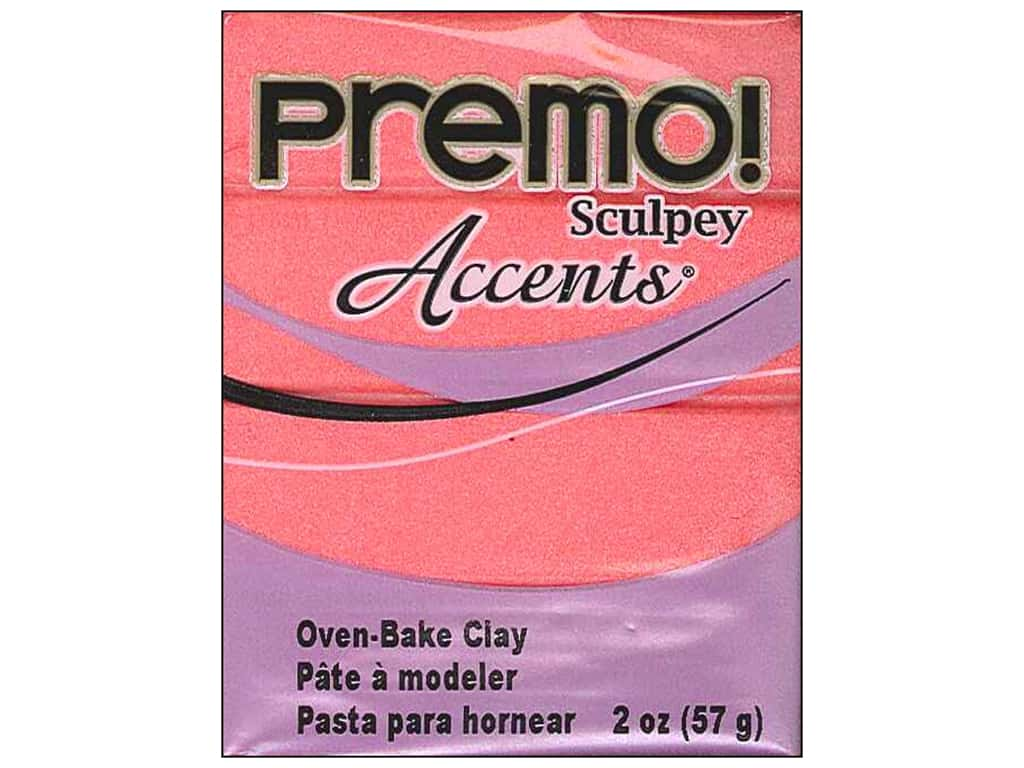 Sculpey Premo Polymer Clay - Pearl Sunset 2 oz.