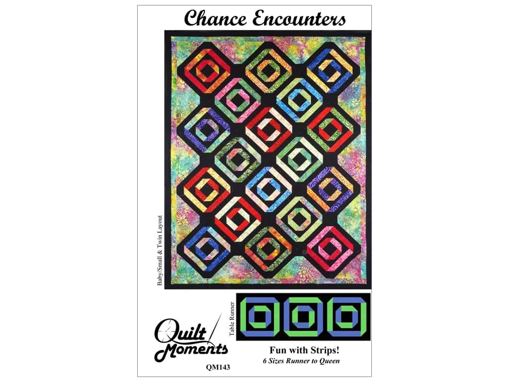 Quilt Moments Chance Encounters Pattern