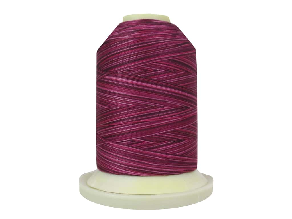 Signature 100% Cotton Thread 700 yd. #M79 Variegated Raspberries