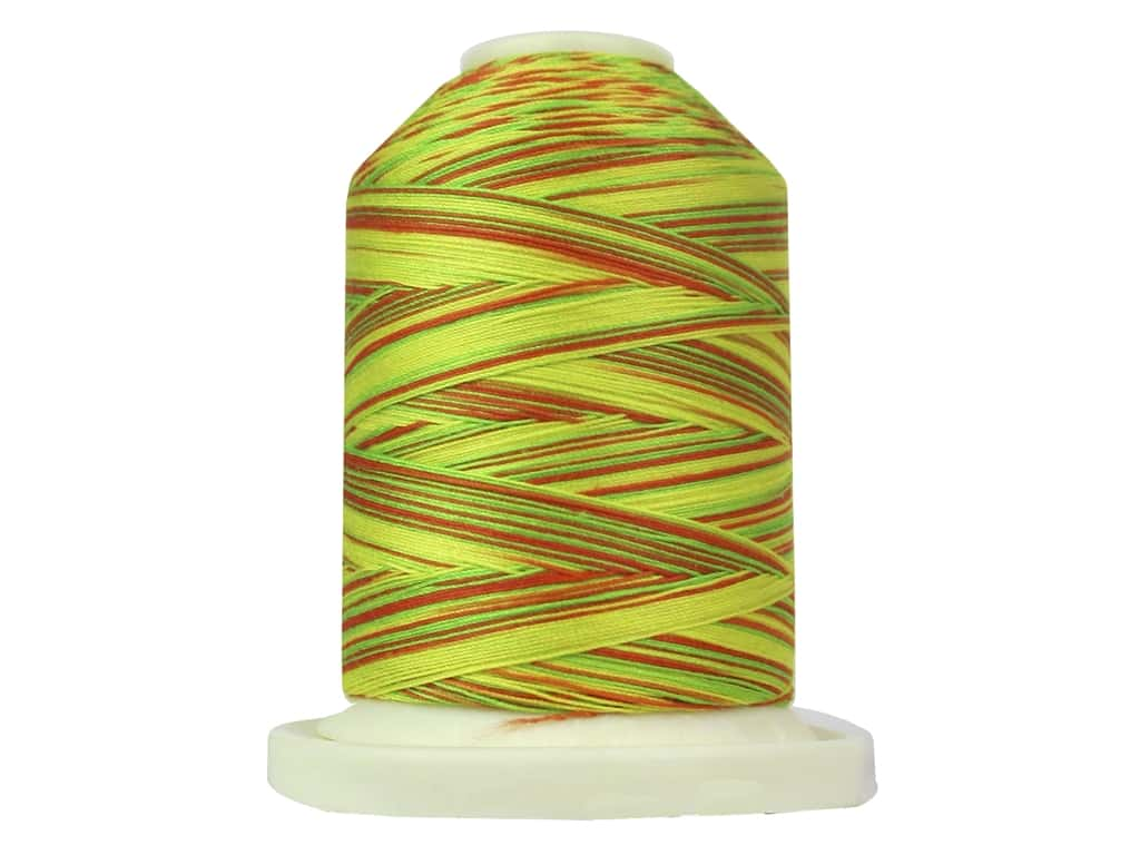 Signature 100% Cotton Thread 700 yd. #M10 Variegated Citrus