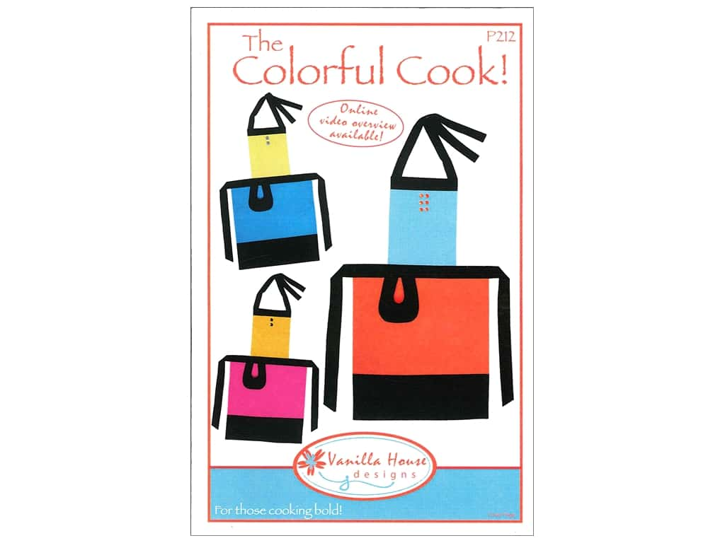 Vanilla House Designs The Colorful Cook! Pattern