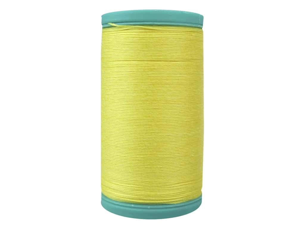 Coats Cotton Covered Bold Hand Quilting Thread 175 yd. #7250 Sun Yellow