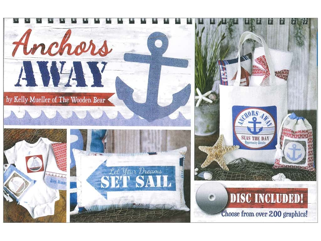 The Wooden Bear Anchors Away Disc & Easel Book