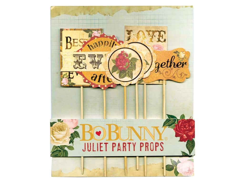 Bo Bunny Party Props 6 pc. Juliet