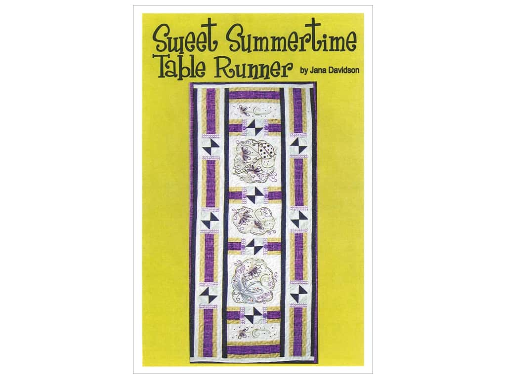 Turnberry Lane Sweet Summertime Table Runner Pattern