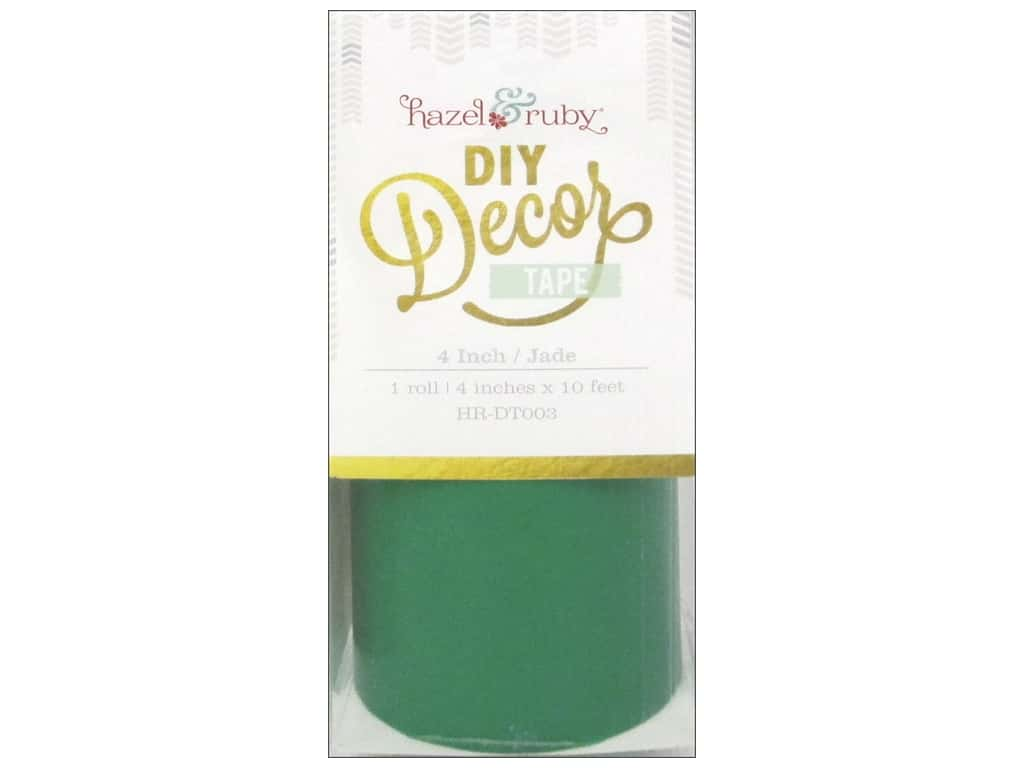 Hazel & Ruby DIY Decor Tape 4 in. Jade