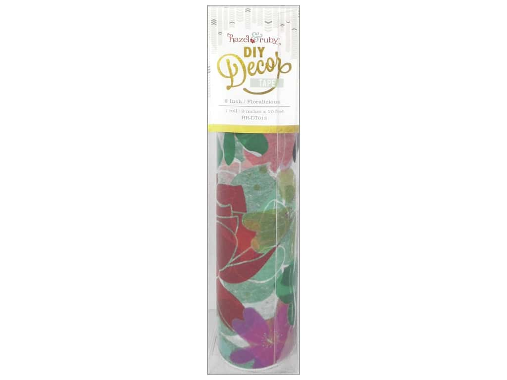 Hazel & Ruby DIY Decor Tape 8 in. Floralicious