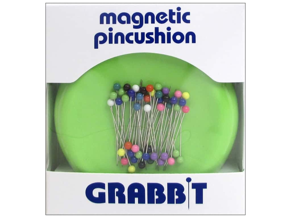 Grabbit Magnetic Pin Cushion Lime Green