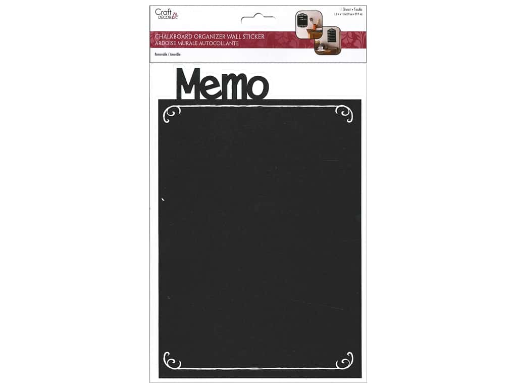 Multicraft Sticker Chalkboard Organizer Memo