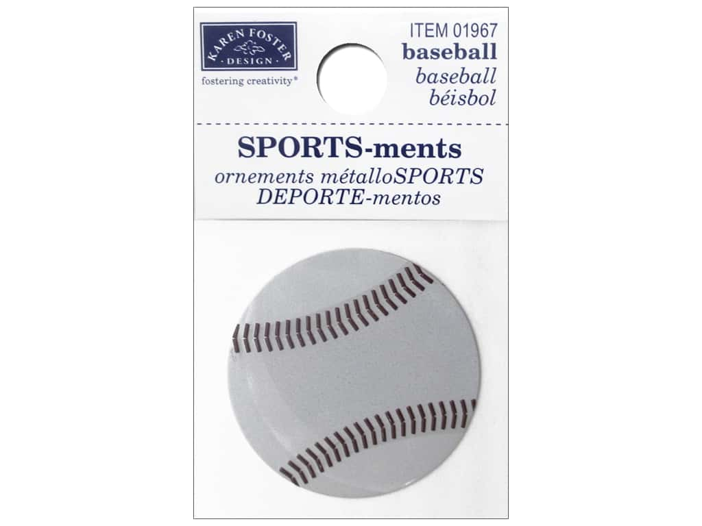 Karen Foster Sticker Sports-ment Baseball