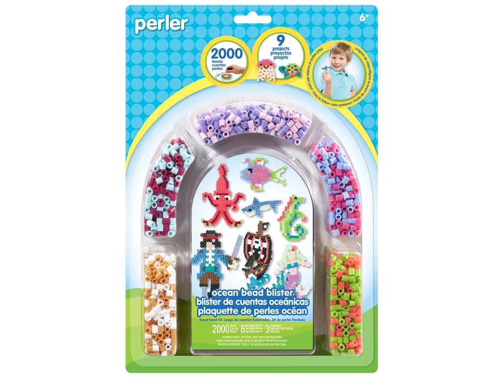 Perler Fused Bead Kit Ocean 2000pc