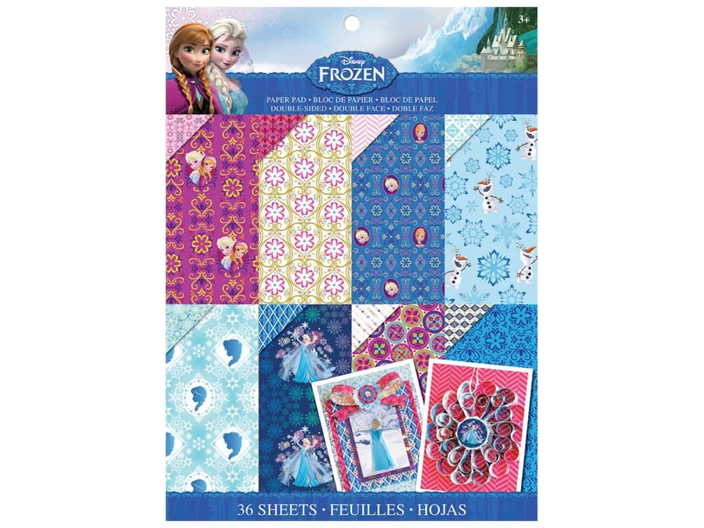 EK Disney 8 1/2 x 11 in. Paper Pad Frozen