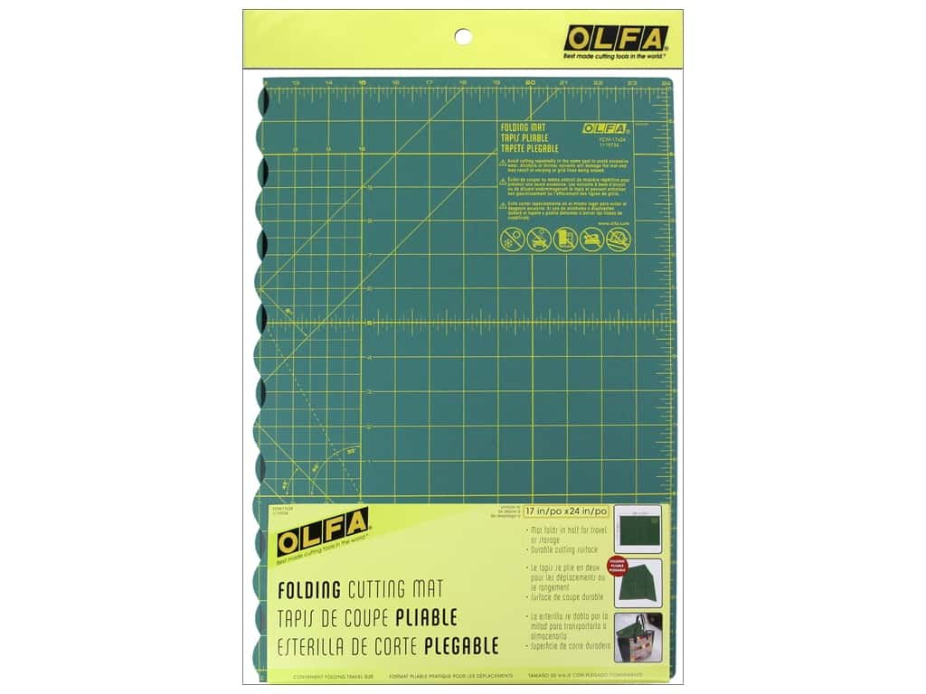 Olfa Cutting Mat Folding 17 x 24 in.