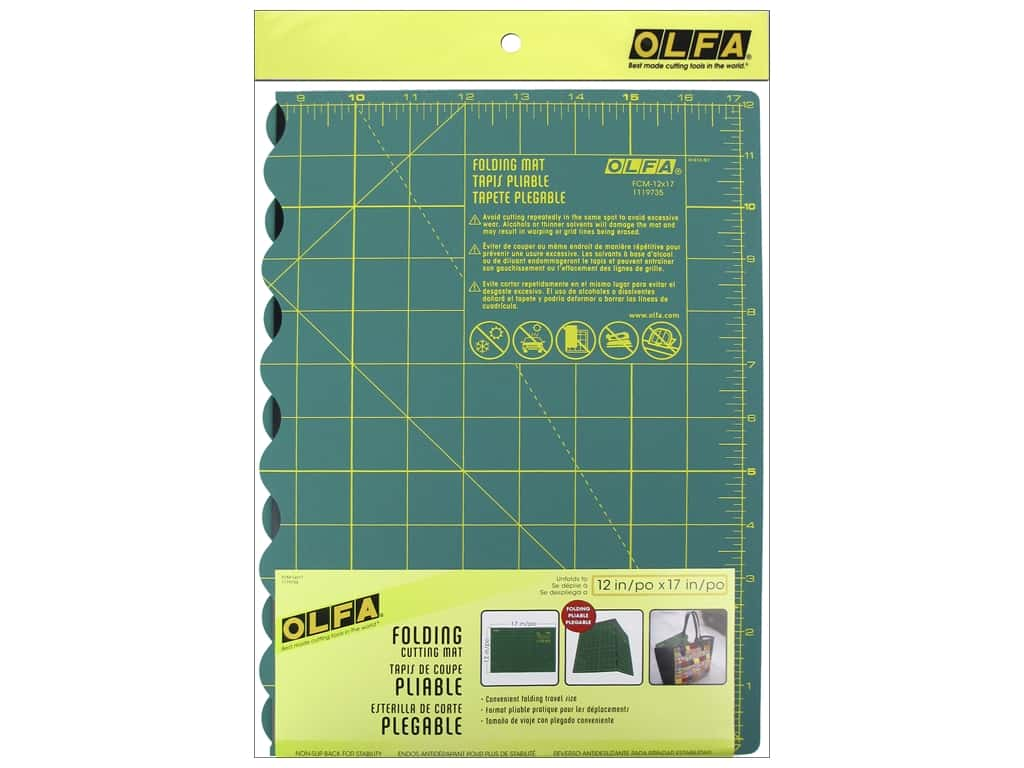Olfa Folding Cutting Mat 12 x 17 in.