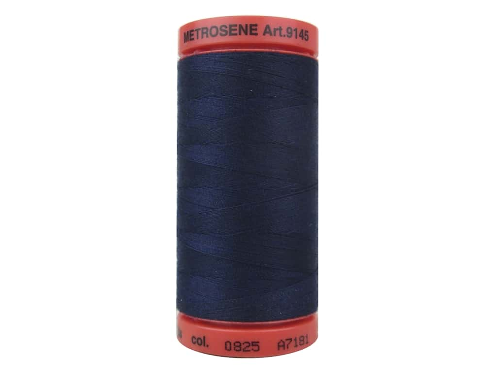 Mettler Metrosene All Purpose Thread 547 yd. #0825 Navy