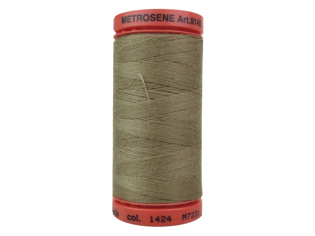 Mettler Metrosene All Purpose Thread 547 yd. #1424 Pecan