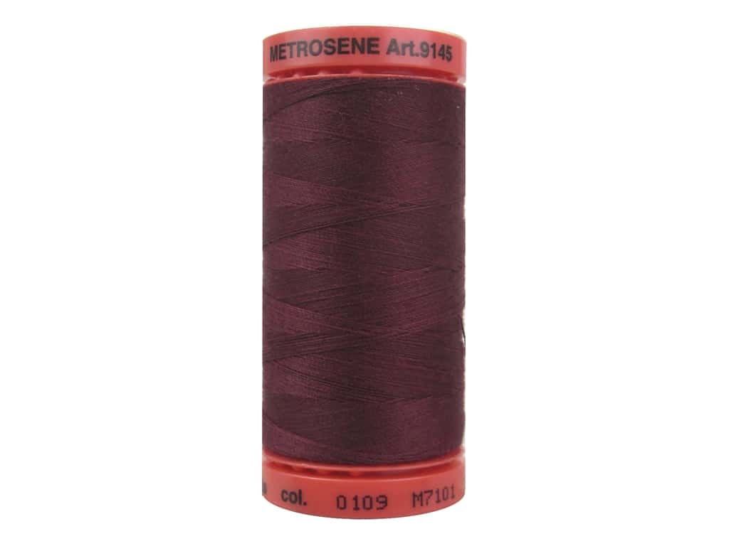 Mettler Metrosene All Purpose Thread 547 yd. #0109 Boreaux