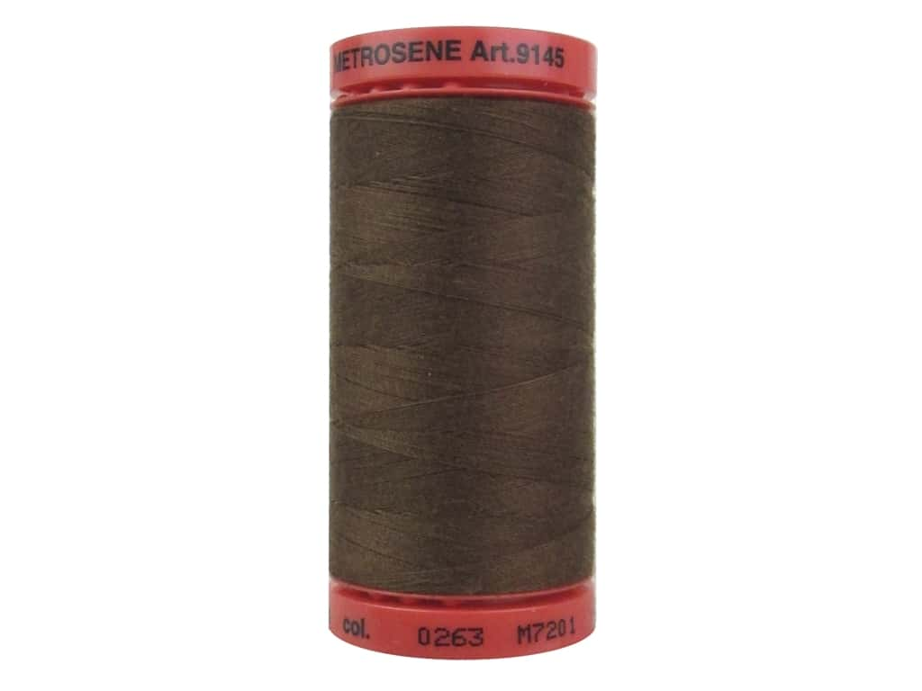 Mettler Metrosene All Purpose Thread 547 yd. #0263 Redwood