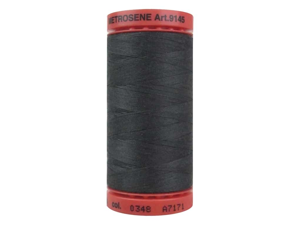 Mettler Metrosene All Purpose Thread 547 yd. #0348 Mole Gray