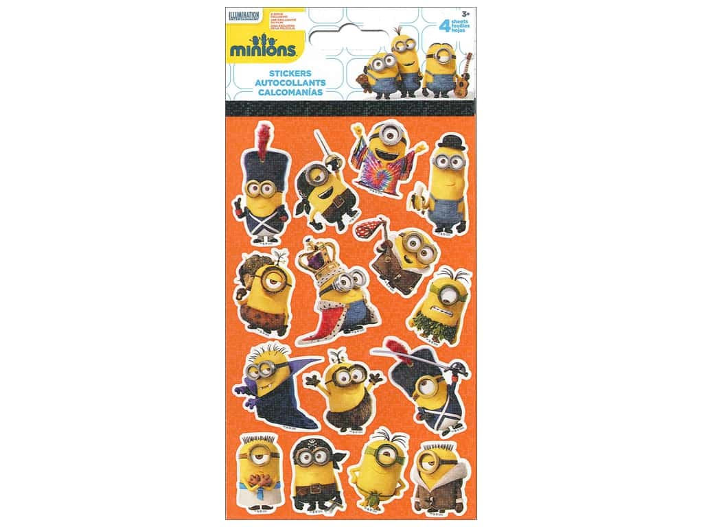 SandyLion Sticker Standard Universal Studios Minions Movie