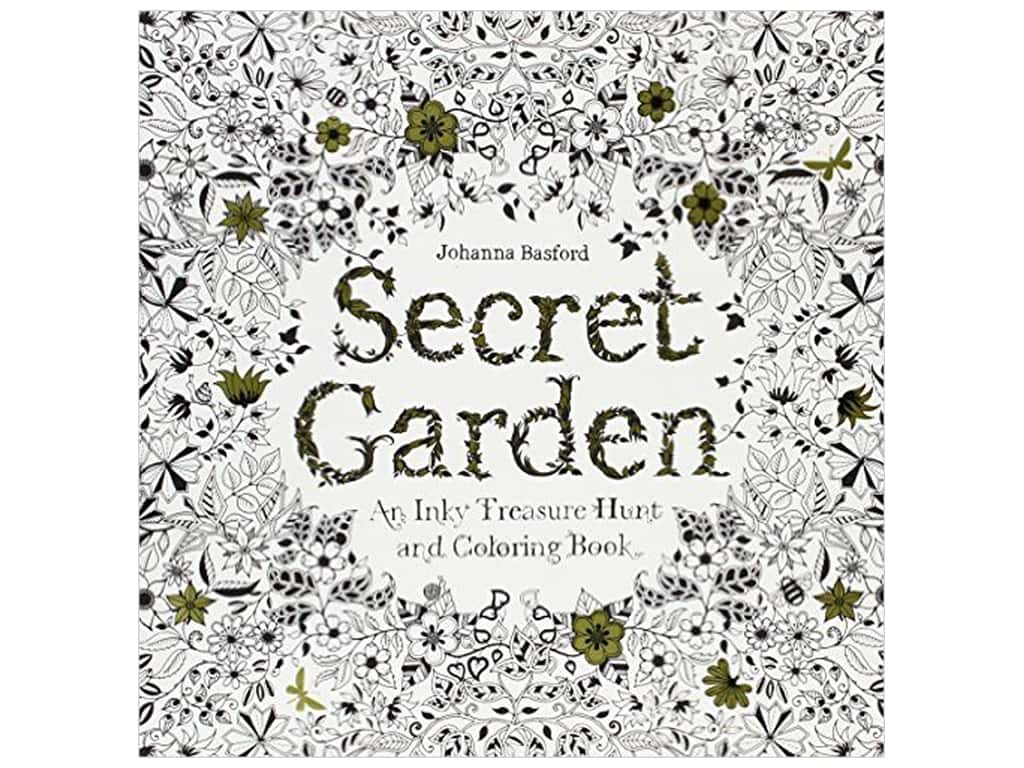 Secret Garden Coloring Book by Johanna Basford