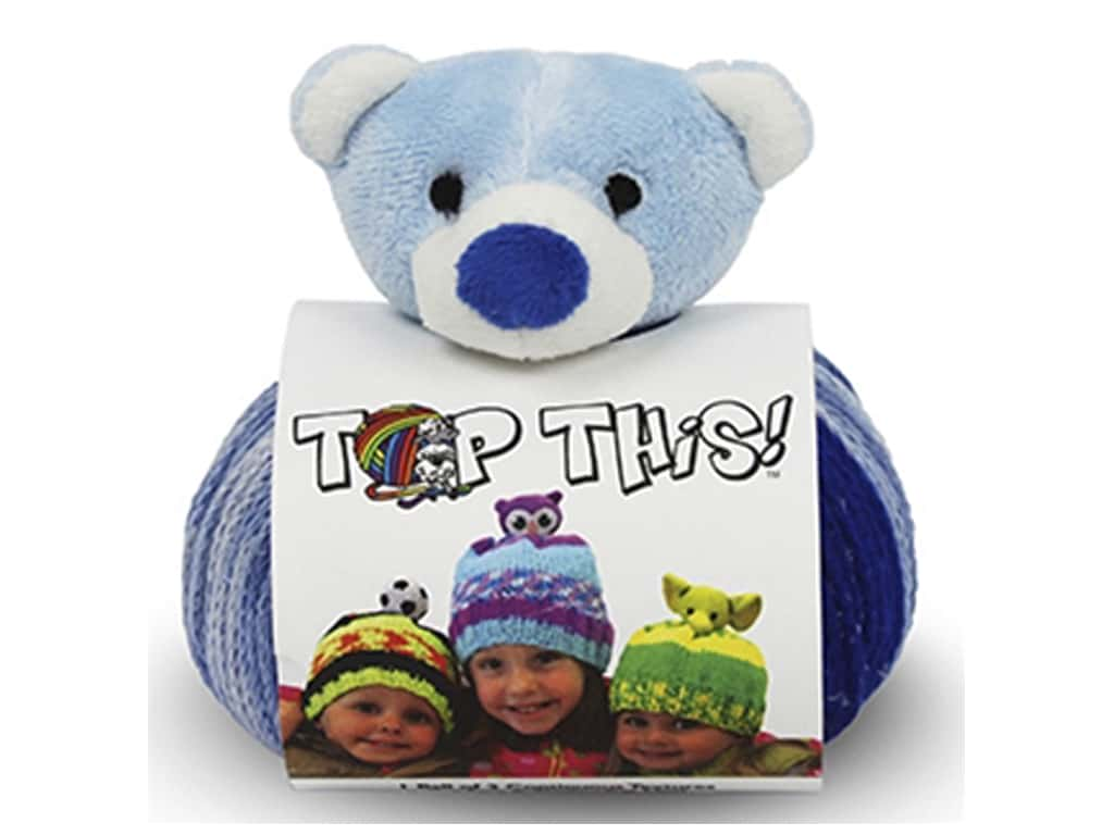 DMC Top This Yarn Kit Teddy Bear