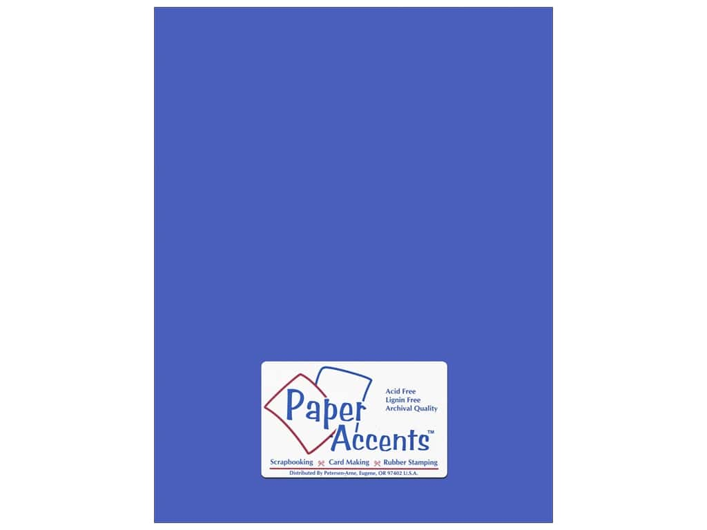 Paper Accents Cardstock 8 1/2 x 11 in. #57730 Canvas Mosaic Blue 25 pc.