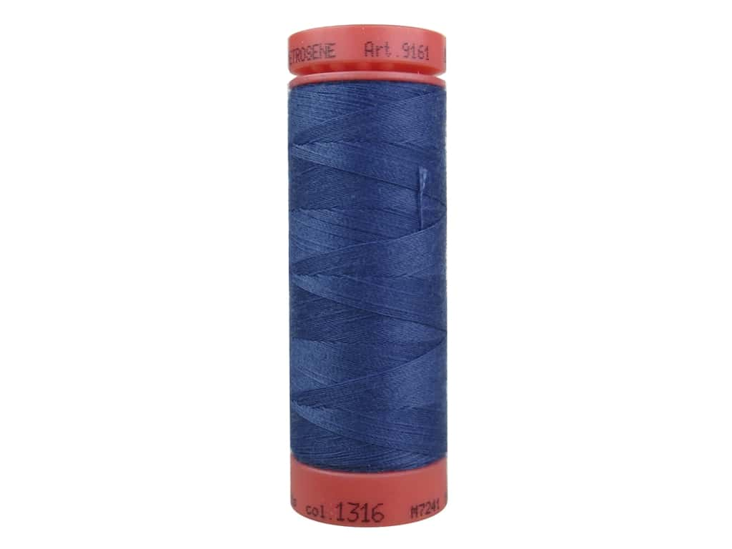 Mettler Metrosene All Purpose Thread 164 yd. #1316 Steel Blue