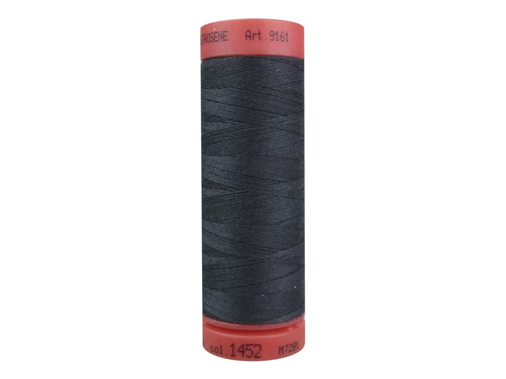 Mettler Metrosene All Purpose Thread 164 yd. #1452 Dark Pewter