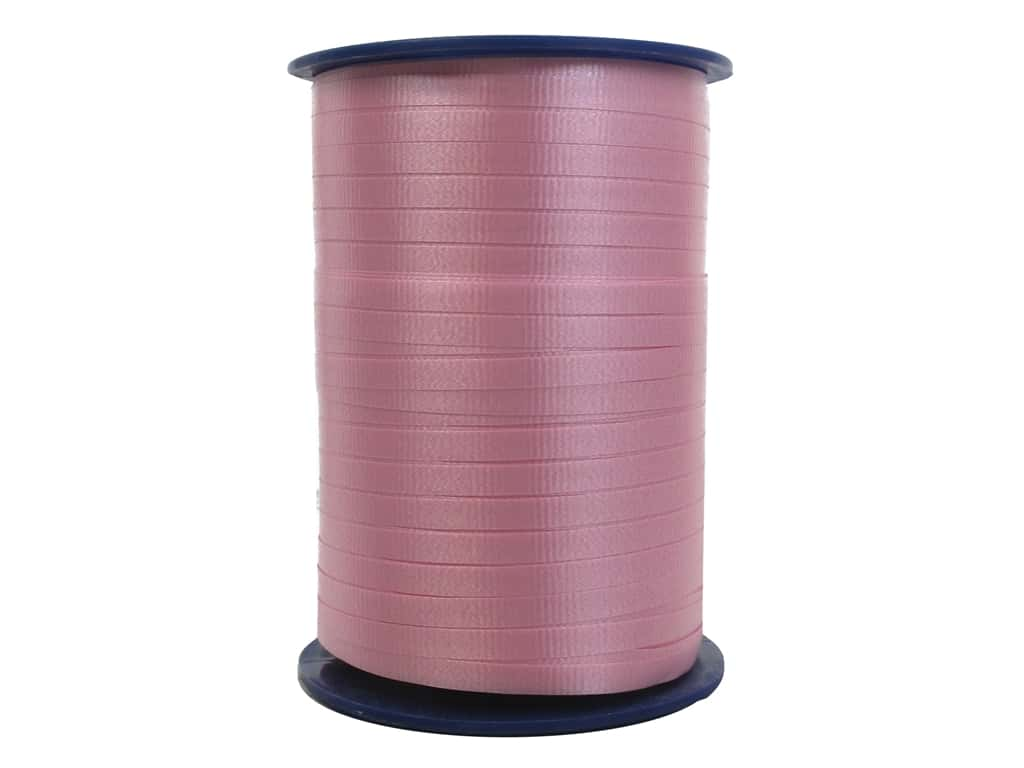 Morex Crimped Curling Ribbon 3/16 in. x 500 yd. Light Pink