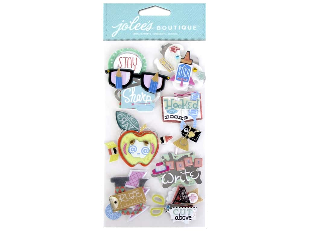 Jolee's Boutique Stickers School Words