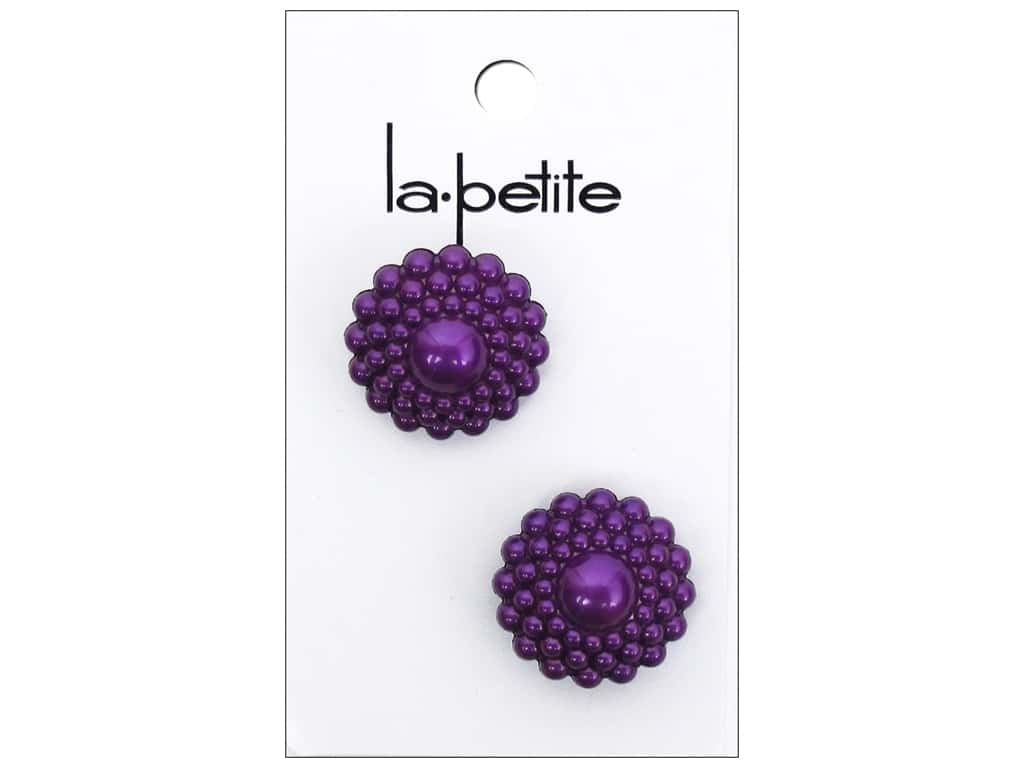 LaPetite Shank Buttons 7/8 in. Purple #2094 2 pc.