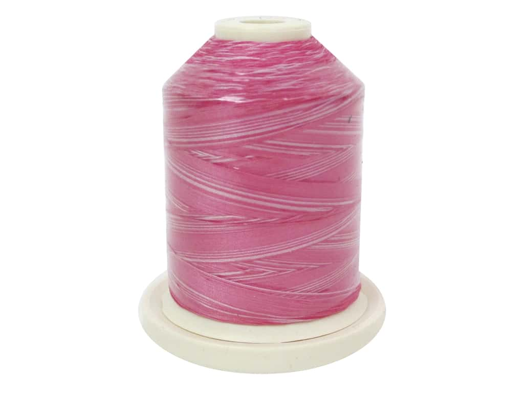Signature 100% Cotton Thread 700 yd. #M78 Variegated Pinky Pinks