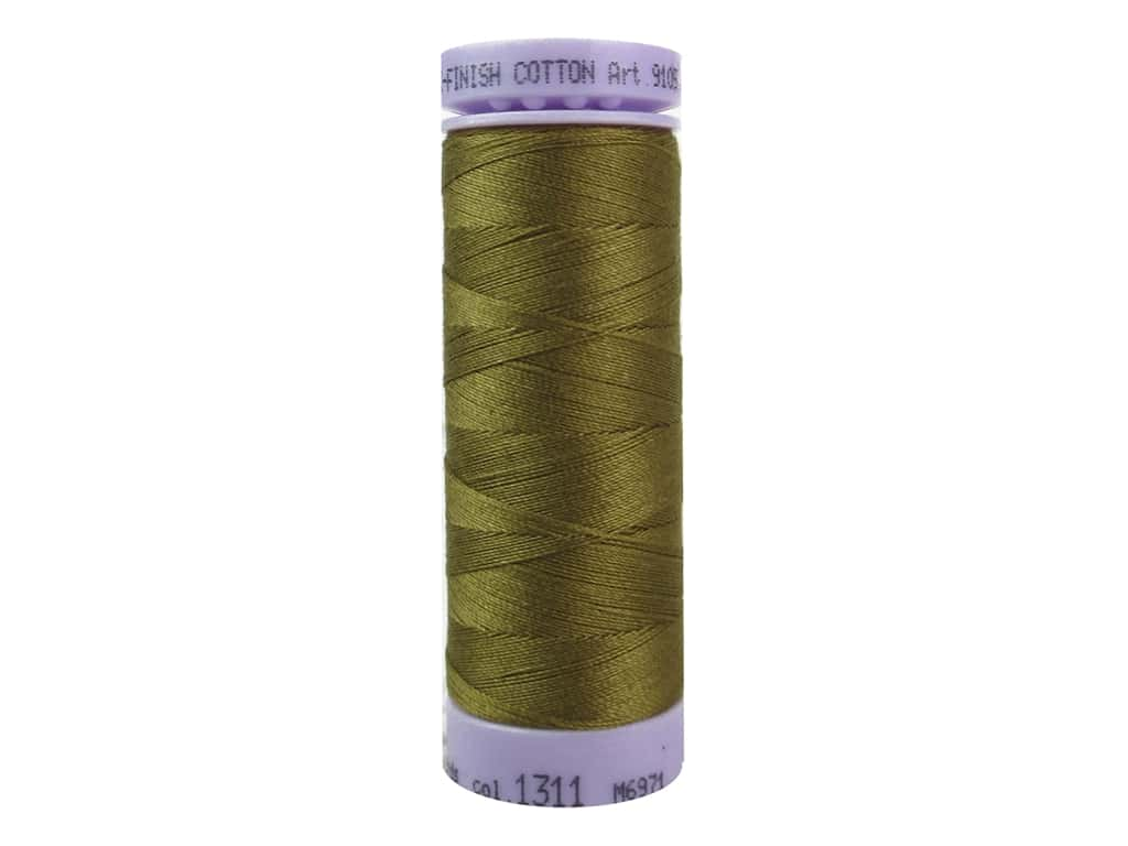 Mettler Silk Finish Cotton Thread 50 wt. 164 yd. #1311 Golden Grain