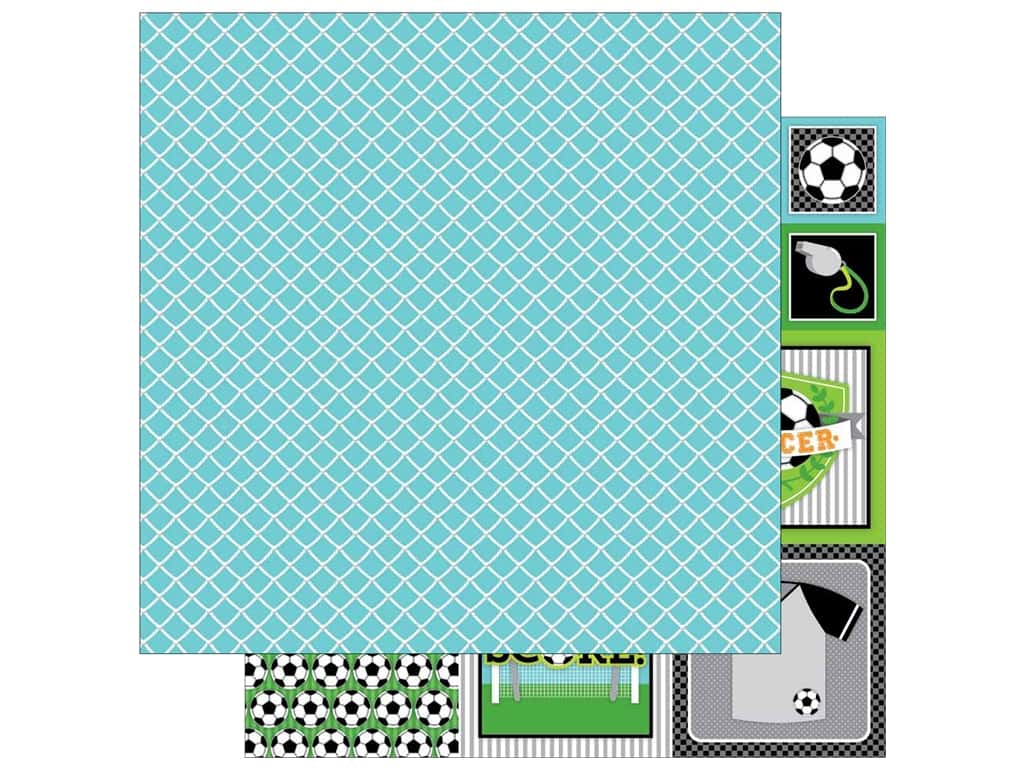 Doodlebug 12 x 12 in. Paper Goal (25 sheets)