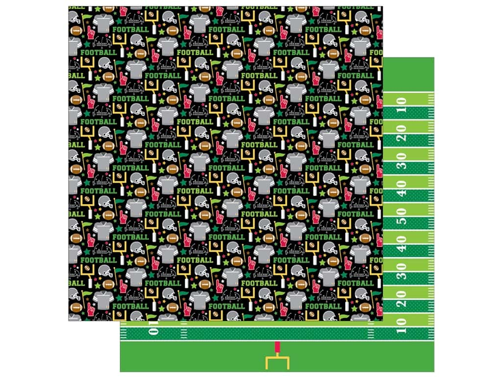 Doodlebug 12 x 12 in. Paper Touchdown Suit Up (25 sheets)