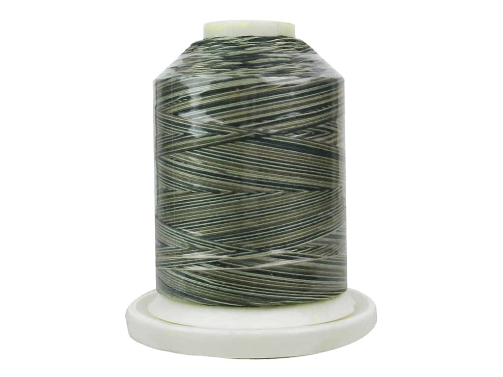 Signature 100% Cotton Thread 700 yd. #M04 Variegated Green House